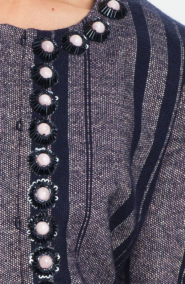 Alternate Image 3  - Tory Burch 'Eliza' Embellished Jacket