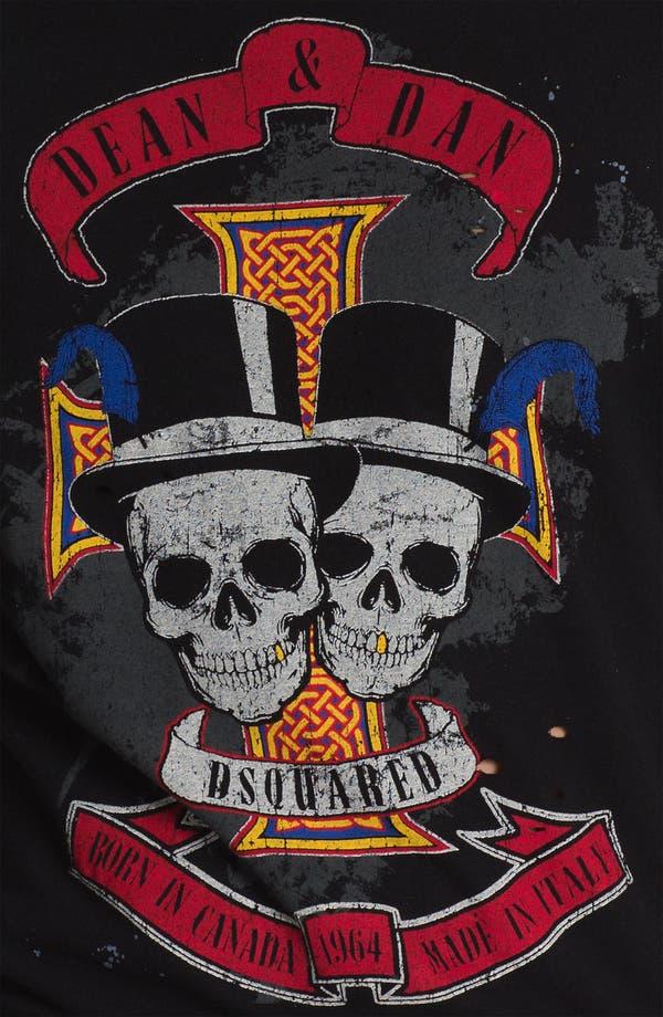 Alternate Image 3  - Dsquared2 'Dan & Dead Skull' Graphic T-Shirt