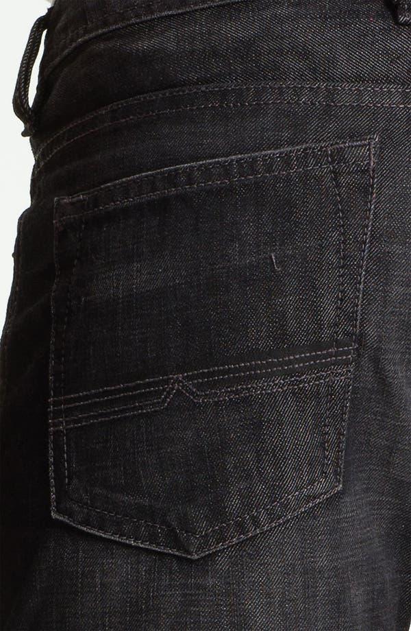 Alternate Image 4  - Buffalo Jeans 'Driven' Straight Leg Jeans (Dark/Washed)