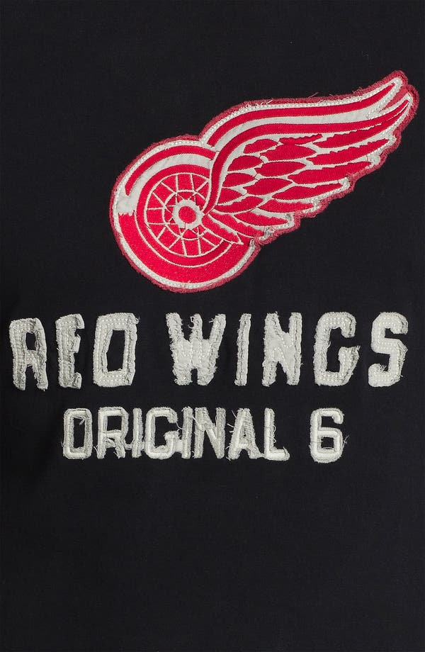 Alternate Image 3  - Red Jacket 'Detroit Red Wings - Team City' Long Sleeve T-Shirt