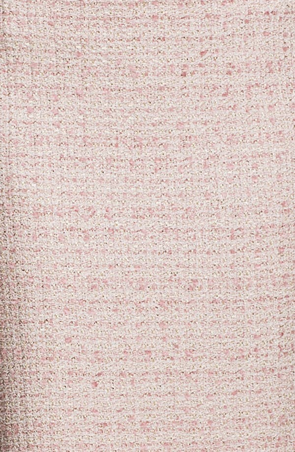 Alternate Image 5  - St. John Collection Eyelash Shimmer Tweed Pencil Skirt