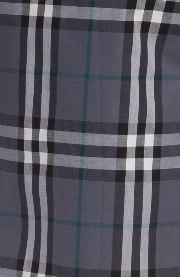 Alternate Image 3  - Burberry Check Cotton Pajama Pants