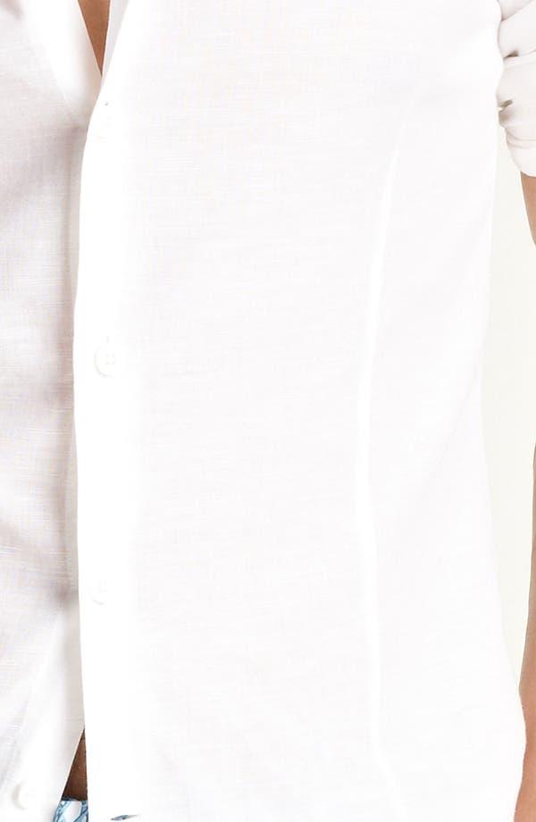 Alternate Image 3  - Orlebar Brown 'Fleming' Linen Blend Shirt