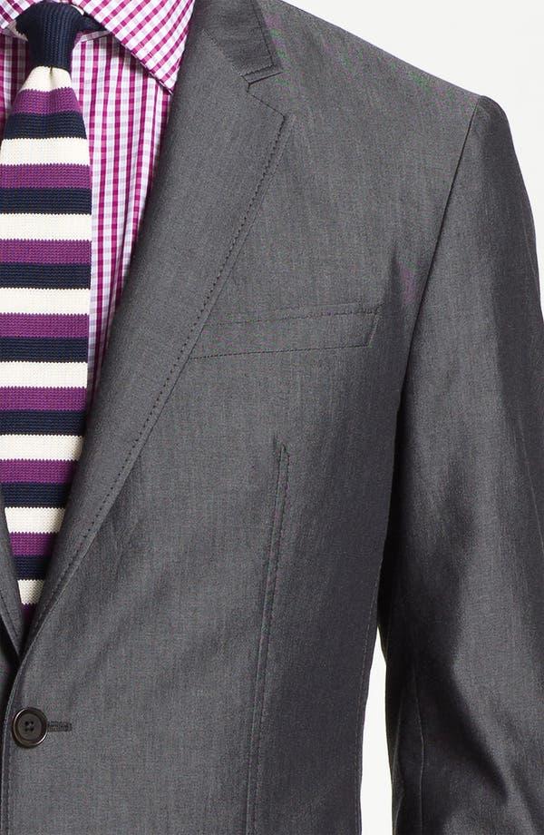 Alternate Image 6  - BOSS HUGO BOSS 'Heaven/Fly' Trim Fit Cotton Blend Suit