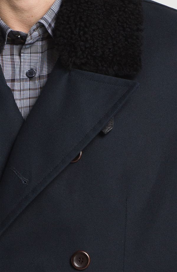 Alternate Image 3  - PLECTRUM by Ben Sherman Double Breasted Overcoat