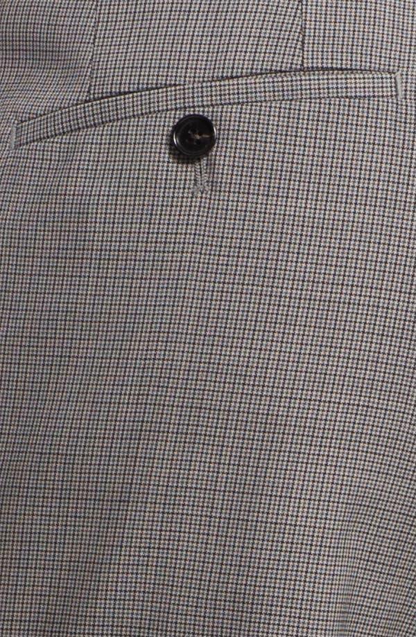 Alternate Image 3  - BOSS Black 'Sharp' Flat Front Wool Trousers