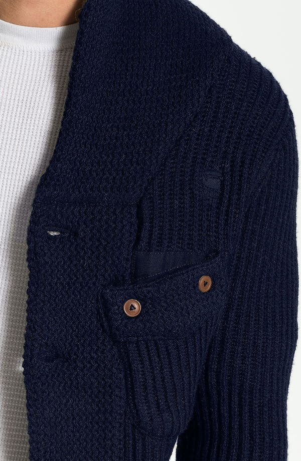 Alternate Image 3  - G-Star Raw 'Oxford' Shawl Collar Sweater