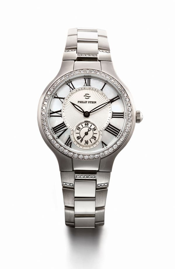 Alternate Image 2  - Philip Stein® 18mm Diamond Watch Bracelet