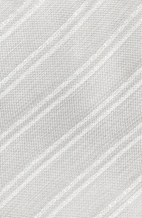 Alternate Image 2  - Yves Saint Laurent Stripe Pattern Woven Silk Tie
