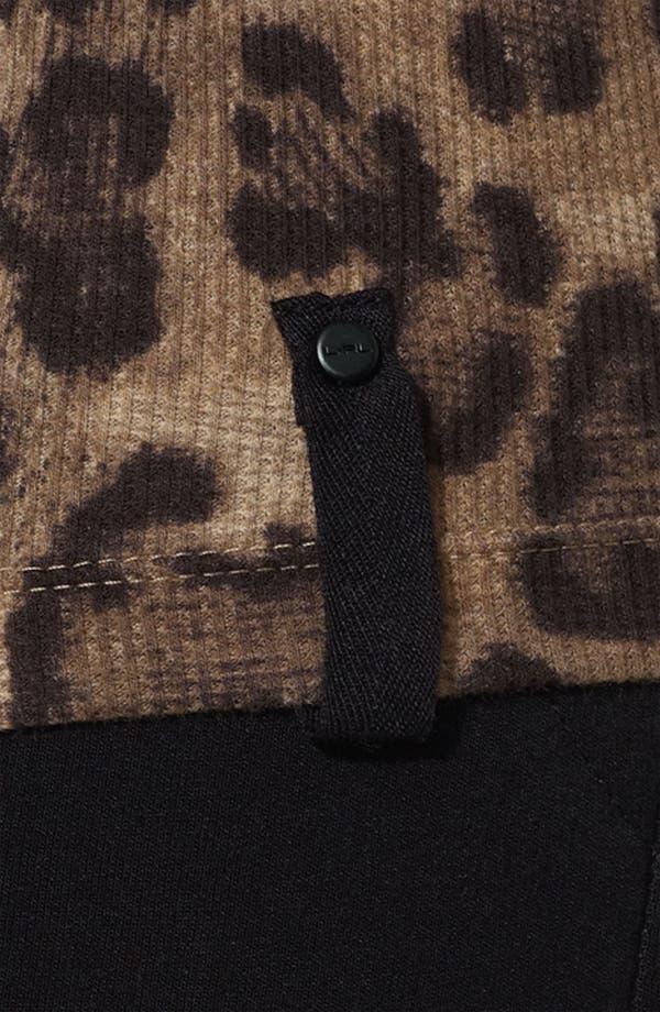 Alternate Image 2  - Lauren Ralph Lauren Leopard Mock Neck Top (Plus)