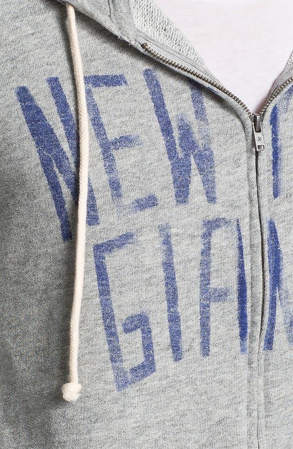 Alternate Image 3  - Junk Food 'New York Giants' Hoodie