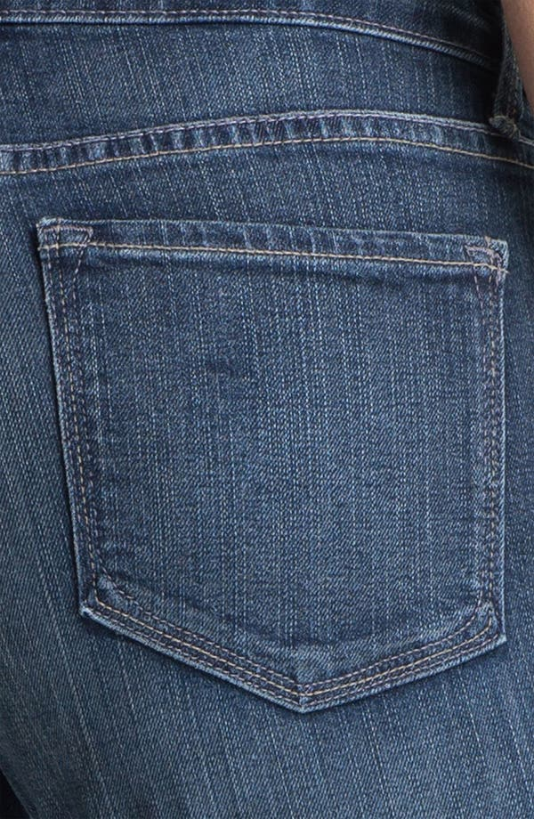 Alternate Image 3  - NYDJ 'Barbara' Stitch Pocket Bootcut Jeans (Petite)