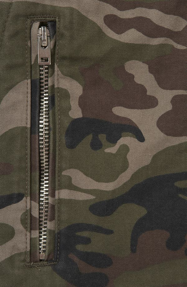 Alternate Image 3  - Topshop Camo Jacket (Petite)