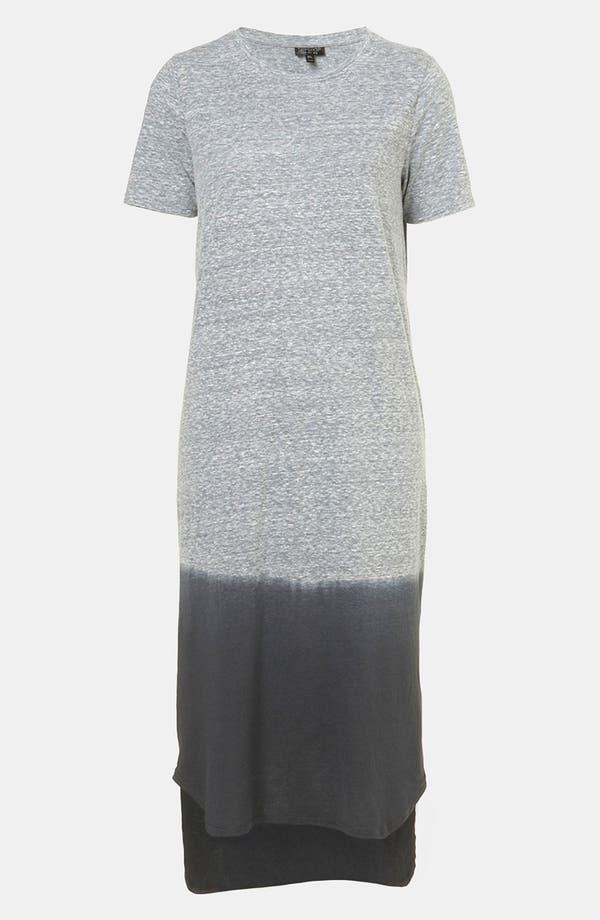 Main Image - Topshop Dip Dye T-Shirt Dress