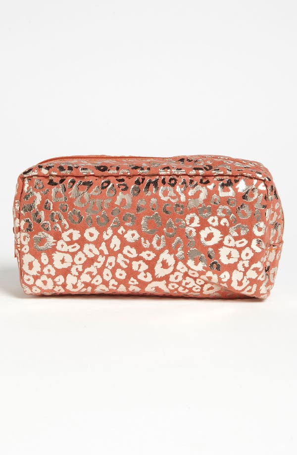 Alternate Image 1 Selected - BP. Metallic Coral Print Pouch