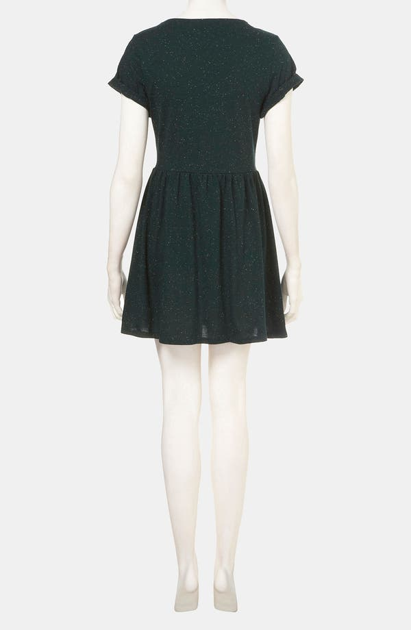 Alternate Image 2  - Topshop Speckled Jersey Dress