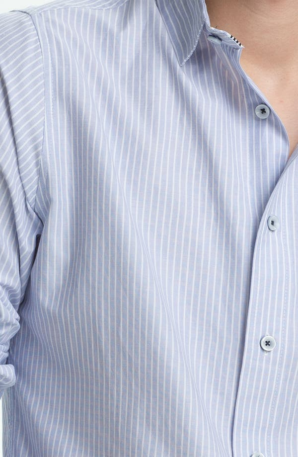 Alternate Image 3  - Descendant of Thieves Stripe Woven Shirt
