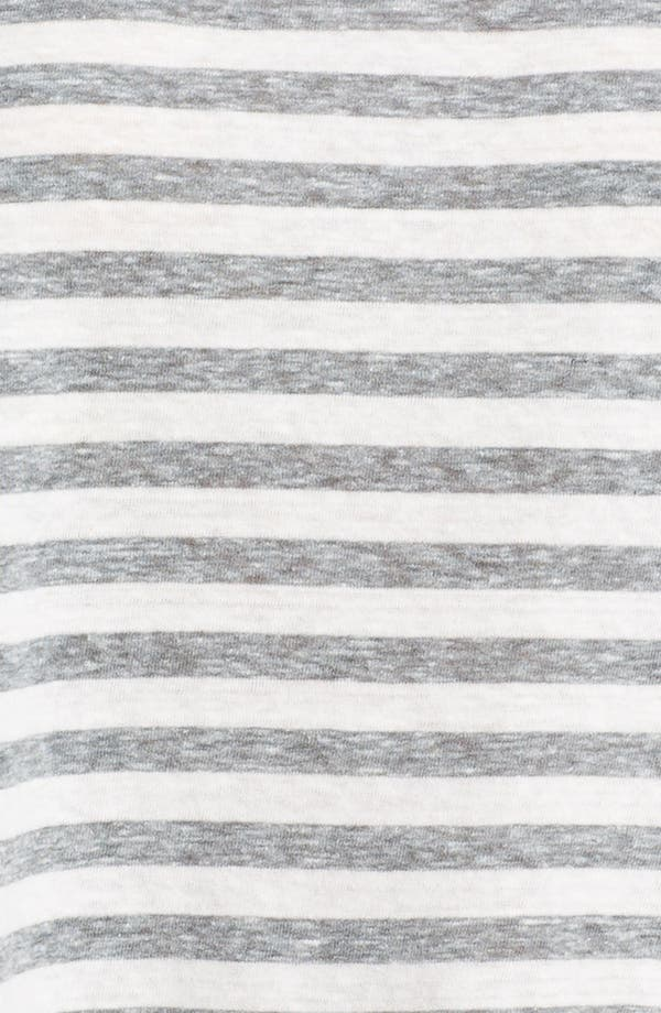 Alternate Image 3  - Eileen Fisher Mélange Slub Stripe Top
