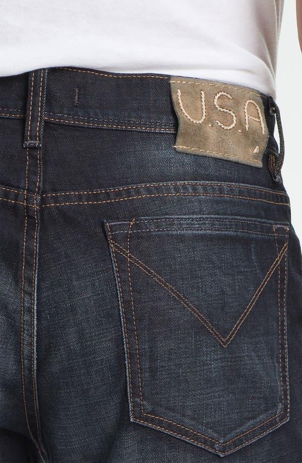 Alternate Image 4  - John Varvatos Star USA 'Fisher' Straight Leg Jeans (Storm)