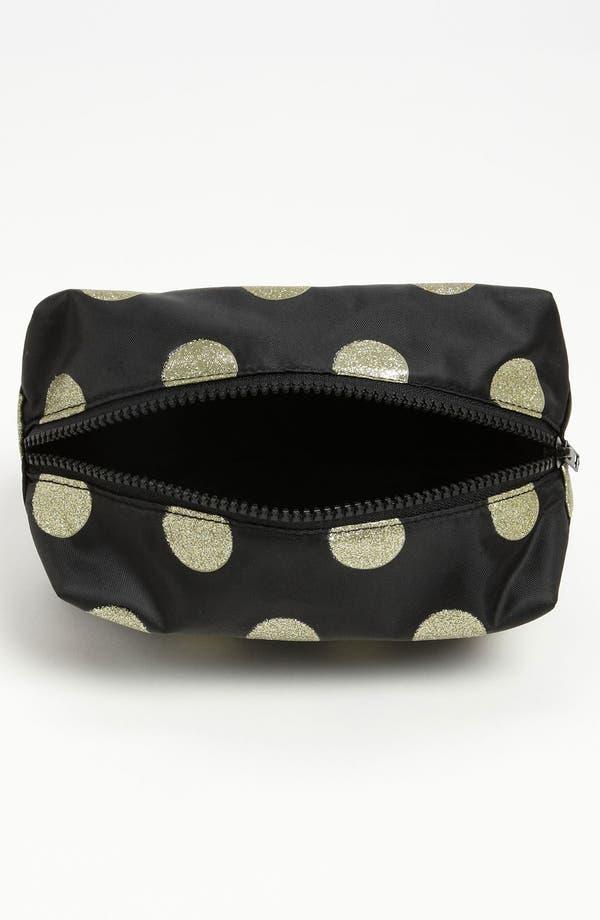 Alternate Image 2  - BP. Metallic Dot Cosmetics Bag