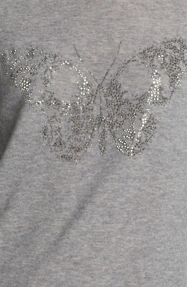 Alternate Image 3  - Zadig & Voltaire Butterfly Print Cashmere Sweater