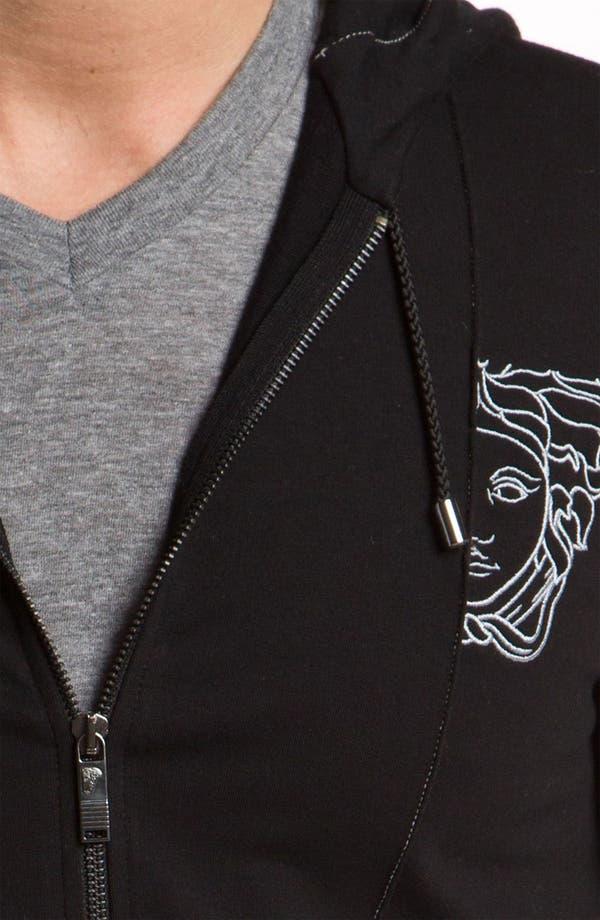 Alternate Image 3  - Versace Zip Hoodie