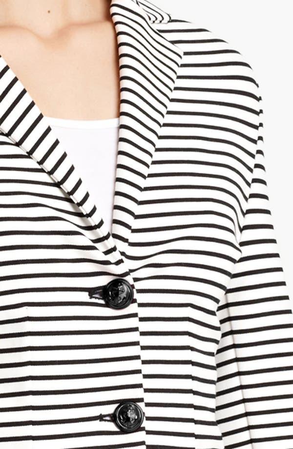 Alternate Image 3  - Moschino Cheap & Chic Stripe Jersey Jacket