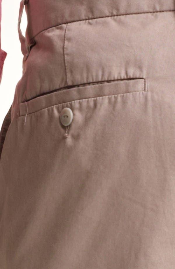 Alternate Image 4  - Save Khaki 'Happy Hour' Slim Straight Leg Pants