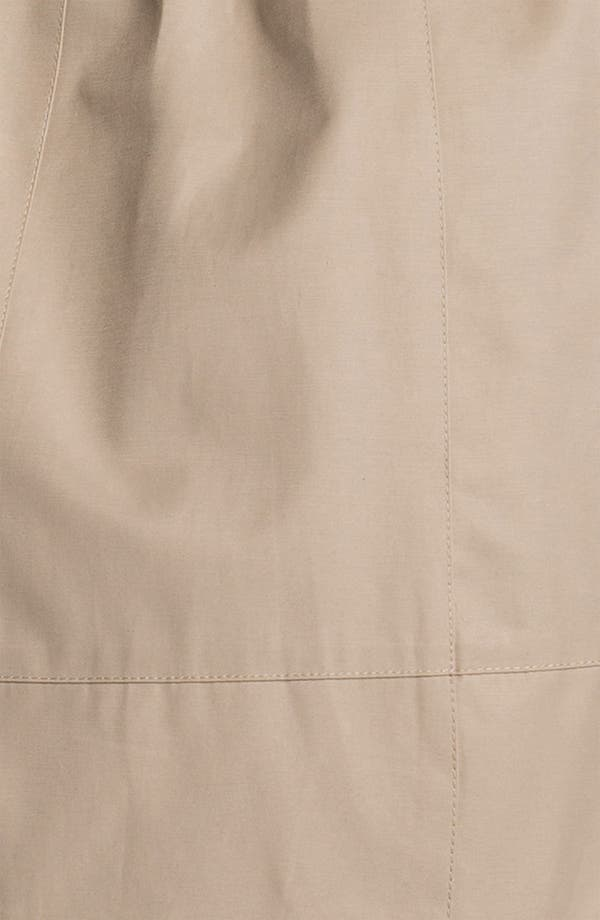 Alternate Image 3  - Sam Edelman Embellished Collar Trench Coat