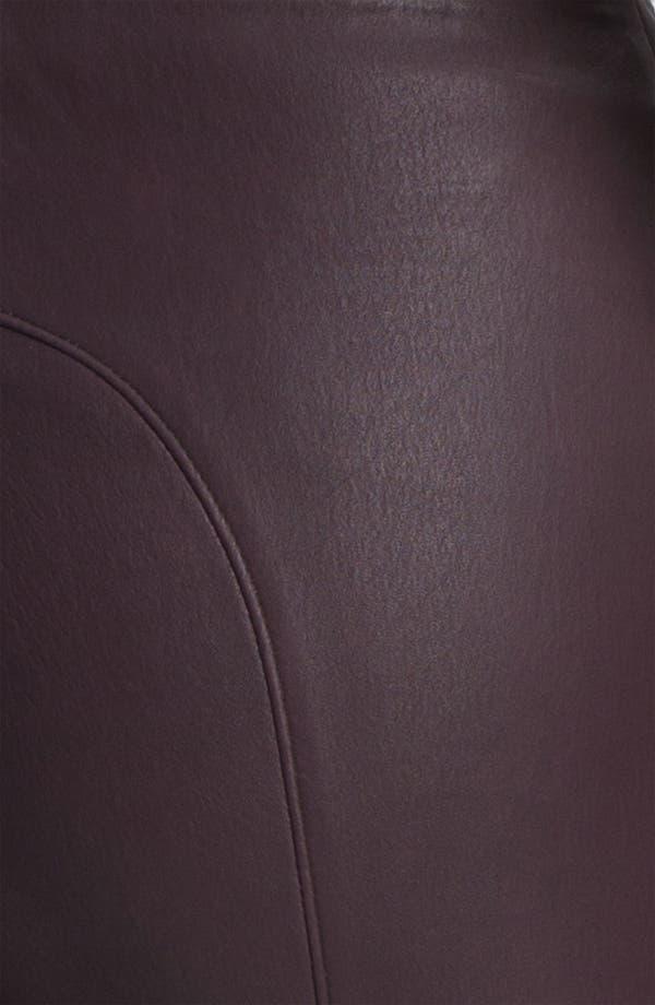 Alternate Image 6  - Twenty8Twelve 'Isiadore' Stretch Leather Pants