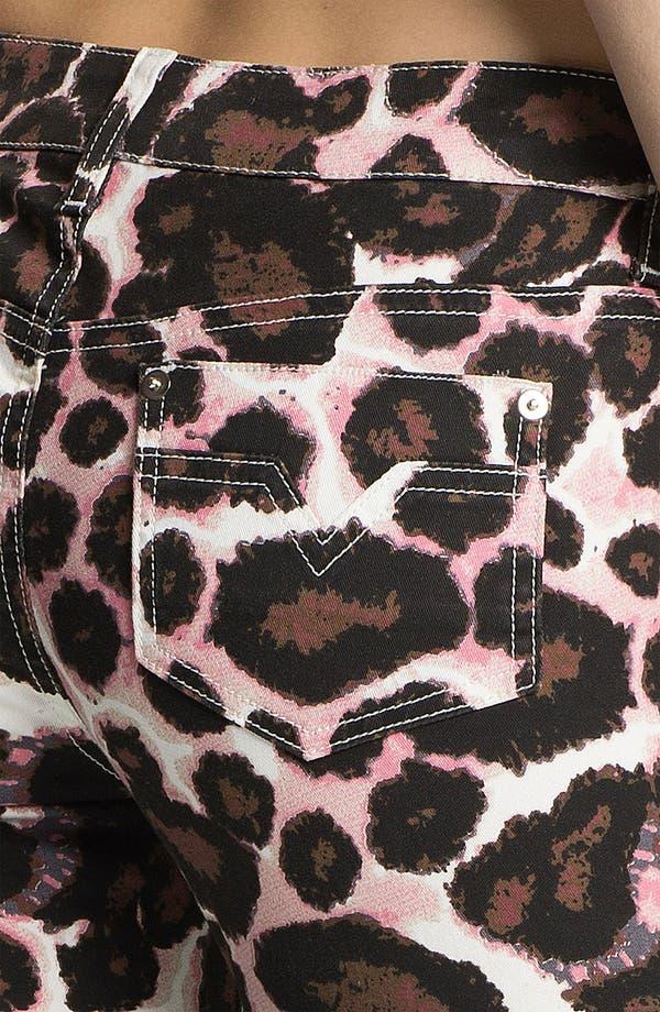 Alternate Image 3  - Rebecca Minkoff Animal Print Skinny Pants