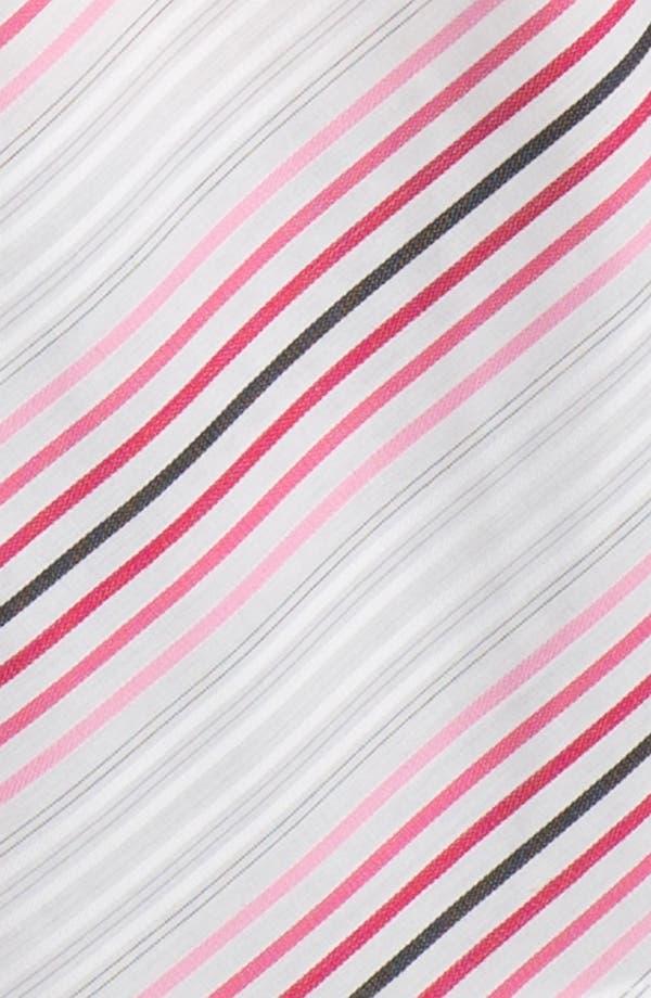 Alternate Image 3  - Foxcroft Double Face Stripe Shirt