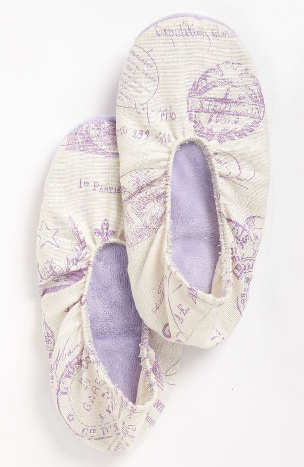 Alternate Image 1 Selected - Sonoma Lavender 'French Stamp' Footies