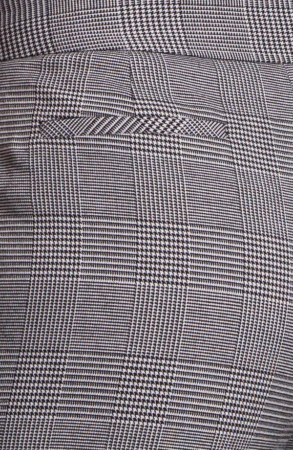 Alternate Image 3  - Anne Klein Cuffed Glen Plaid Pants (Petite)
