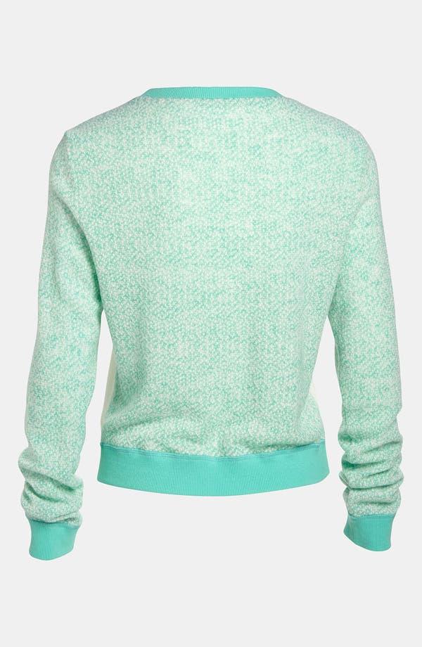 Alternate Image 3  - Lucca Couture Chevron Stripe Sweater