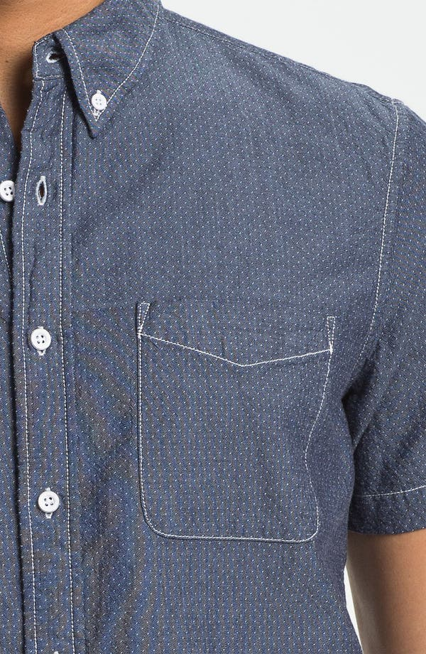Alternate Image 3  - AG Jeans Slim Fit Short Sleeve Sport Shirt