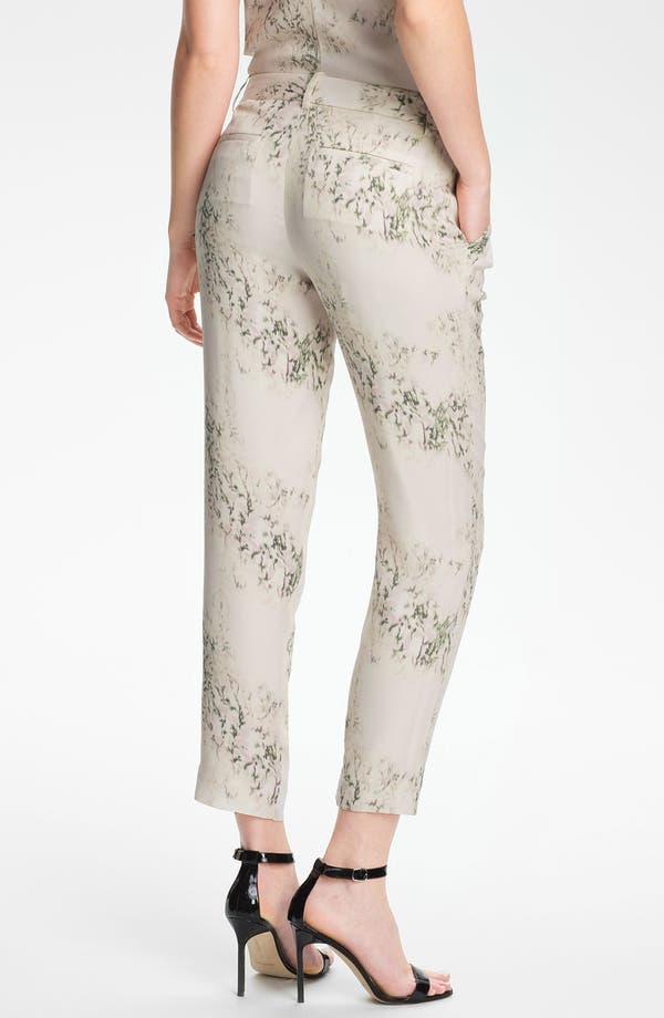 Alternate Image 2  - Theory 'Yogan' Silk Pants
