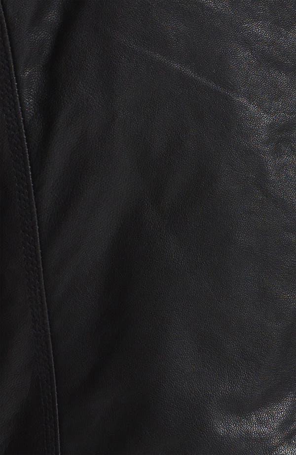 Alternate Image 3  - DIESEL® 'Lagnum' Leather Racing Jacket