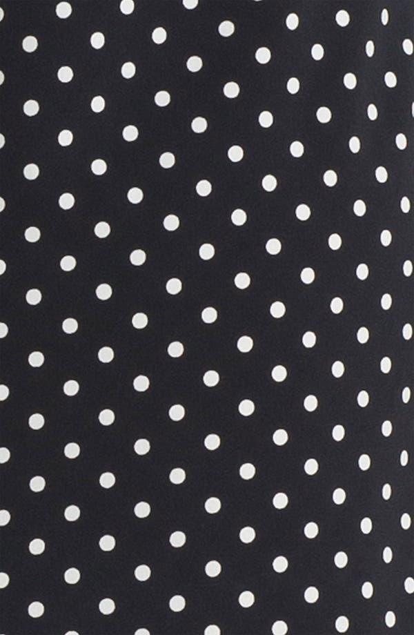 Alternate Image 3  - Anne Klein Dot Print Shirtdress (Petite)