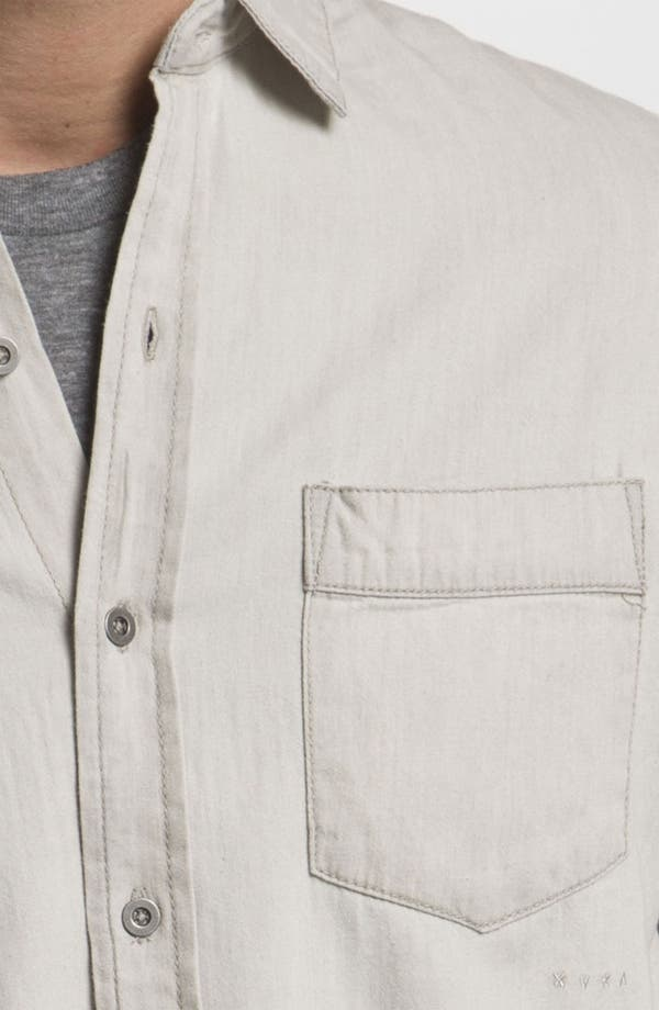 Alternate Image 3  - RVCA 'Bleach' Slim Fit Sport Shirt