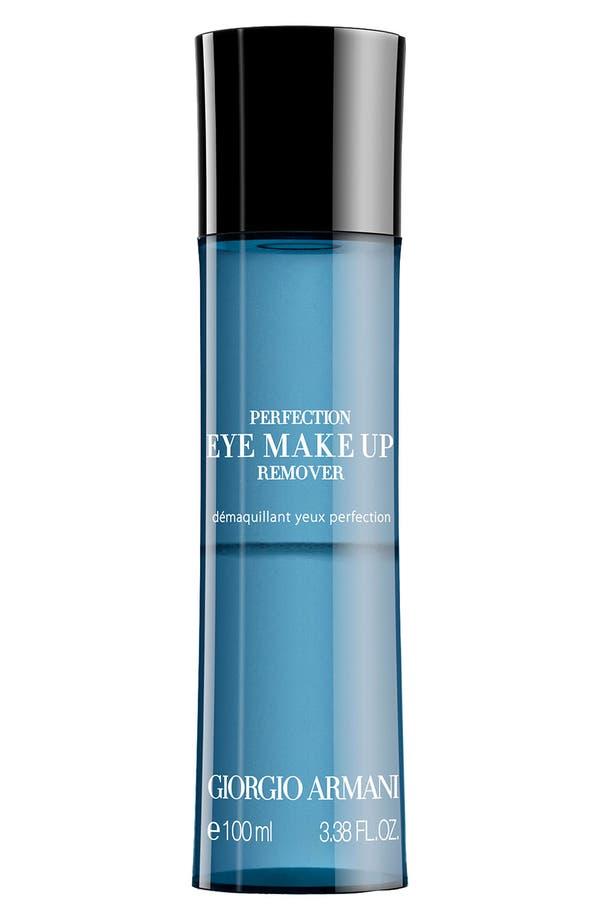 Alternate Image 1 Selected - Giorgio Armani 'Perfection' Eye Make-Up Remover