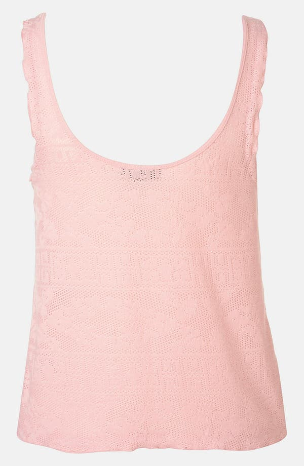 Alternate Image 2  - Topshop Doily Lace Tank