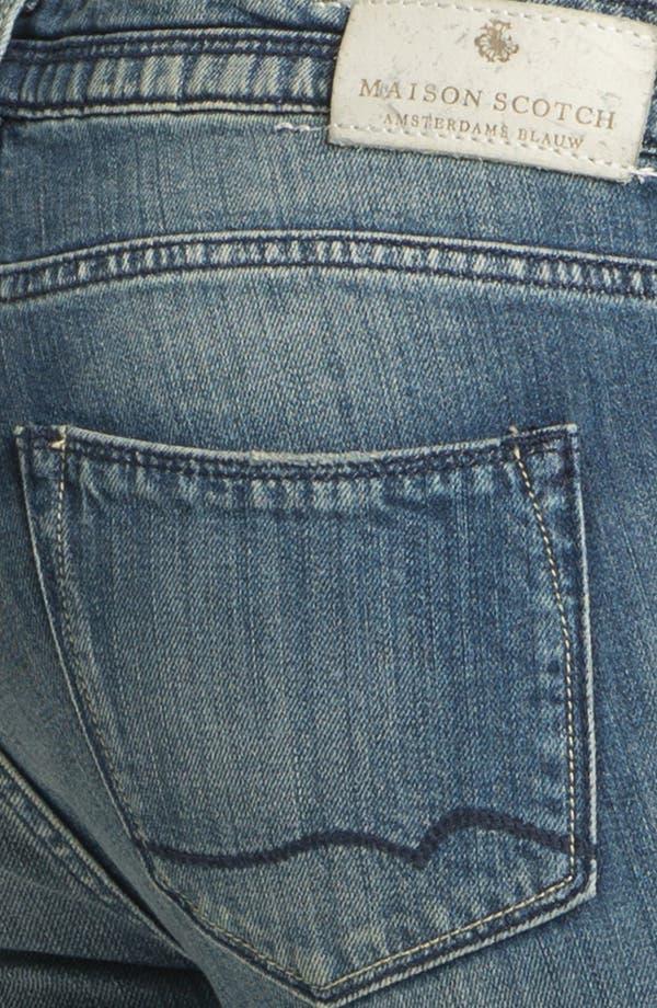 Alternate Image 3  - Maison Scotch 'La Parisienne' Bleach Washed Skinny Jeans (Bleutiful)