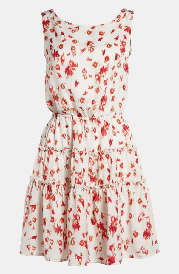Alternate Image 1 Selected - WAYF Cutout Back Dress