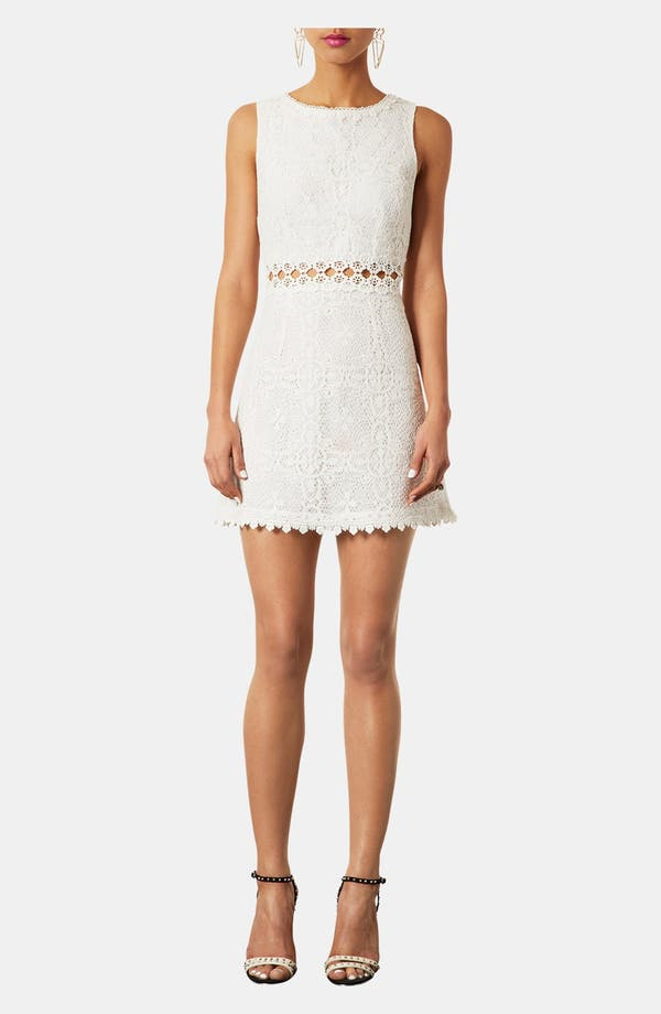 Alternate Image 1 Selected - Topshop Swinging Sixties Lace Dress