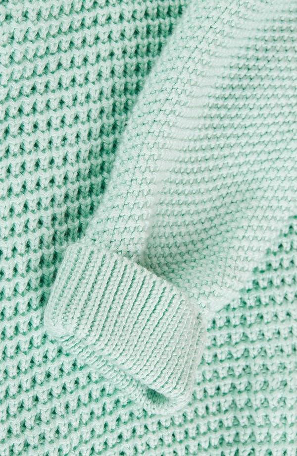 Alternate Image 4  - Topshop 'New Textured Grunge' Sweater