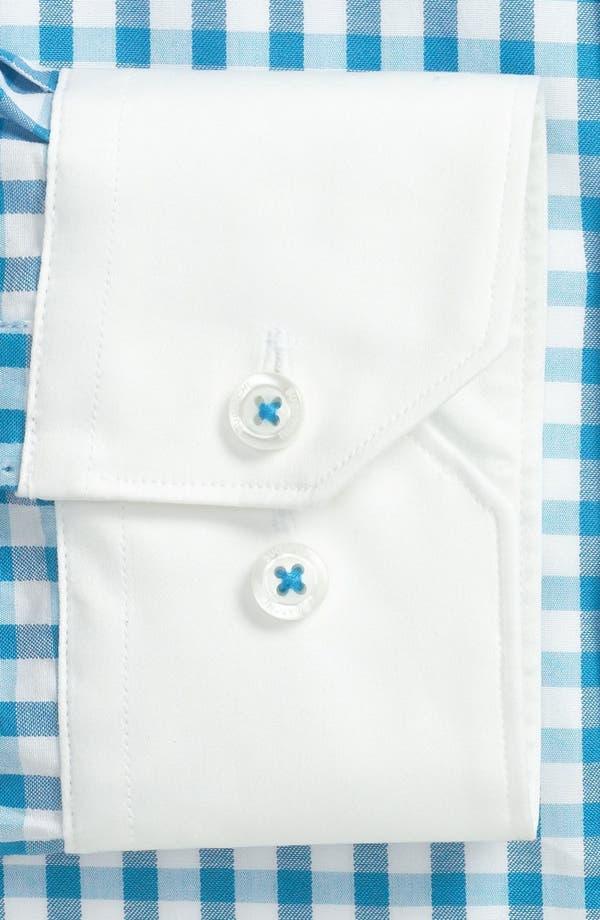 Alternate Image 2  - Bugatchi Uomo Trim Fit Dress Shirt