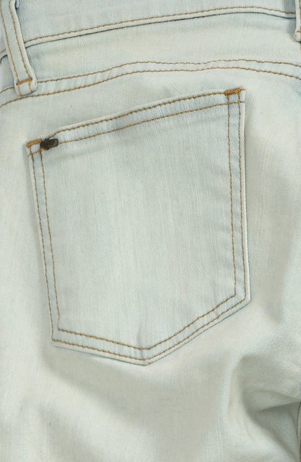 Alternate Image 4  - edyson Skinny Ankle Jeans (Bleach)