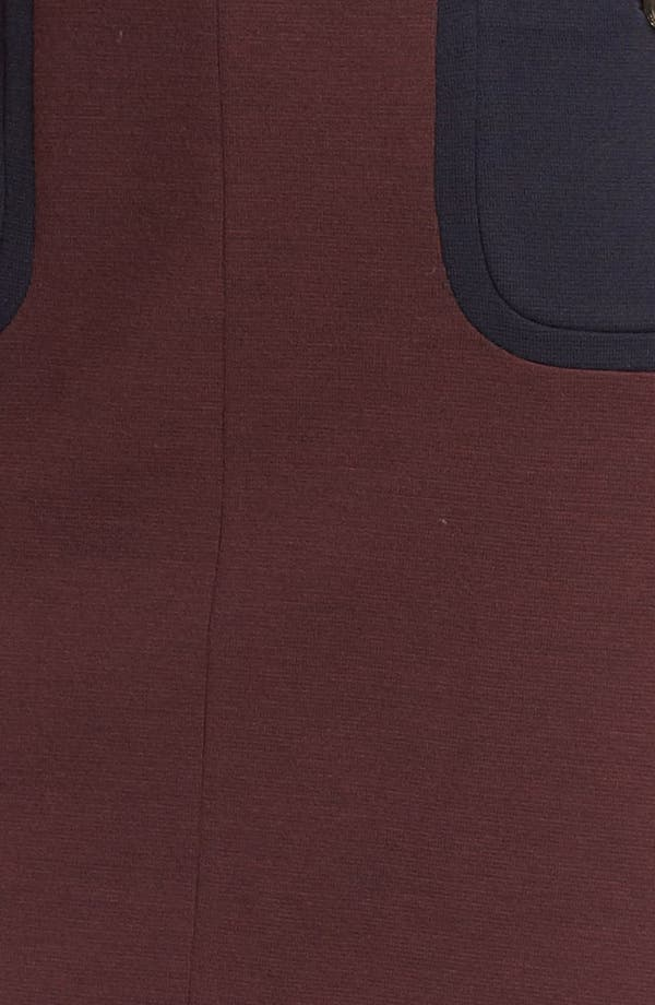 Alternate Image 3  - Tory Burch 'Brianna' Colorblock Sheath Dress