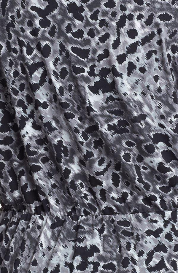 Alternate Image 3  - Anne Klein Print Faux Wrap Top (Plus Size)